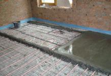 Заливка – важный этап монтажа теплого водяного пола