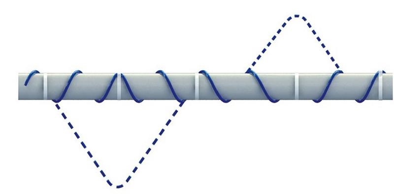 Монтаж нагревательного кабеля на поверхность трубы – это очень просто