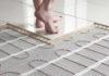 Нагревательные маты под плиткой обеспечат равномерный нагрев комнаты