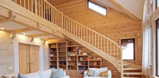 Теплый пол делает проживание в деревянном доме еще более комфортным