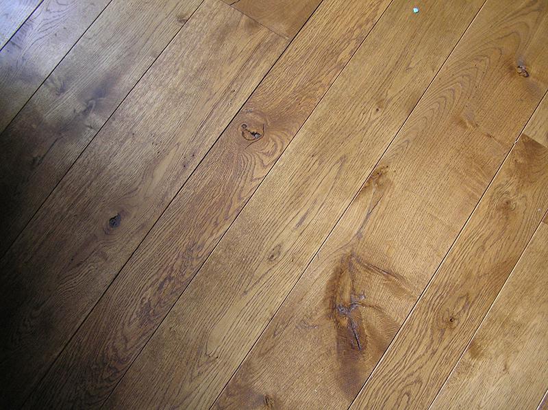 Деревянное покрытие и теплый пол