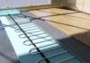 Ламинат устанавливают и на водяные теплые пол