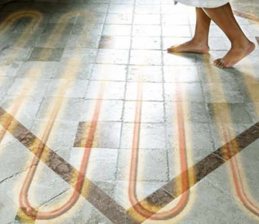 теплые водяные полы в частном доме на бетонный пол