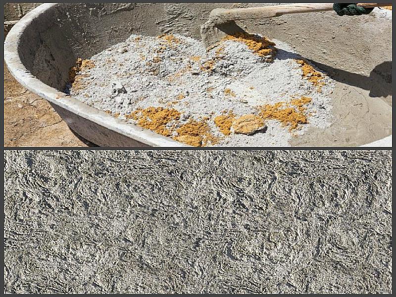 Приготовление бетона 200