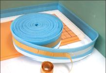 Демпферная лента – необходимая прослойка между стеной и стяжкой
