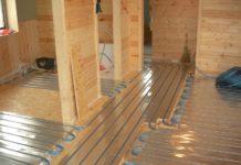 Напольное отопление в каркасном доме – практичное решение