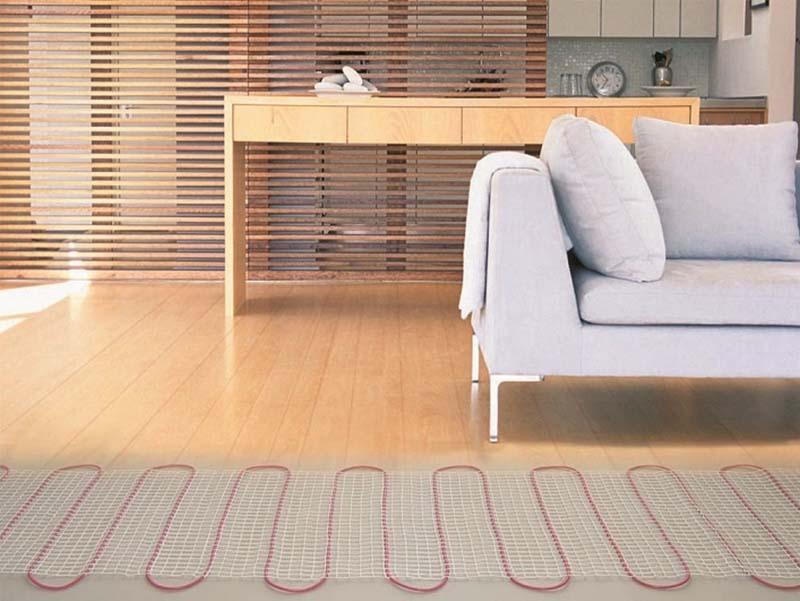 Теплый пол под ламинат на деревянный пол виды и способы устройства