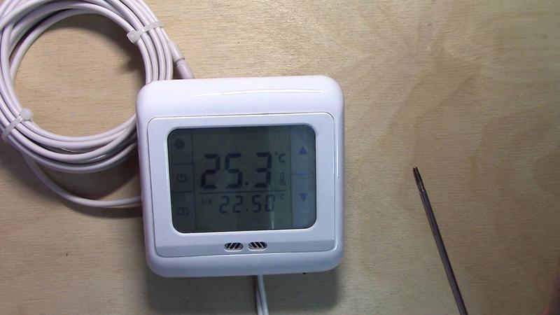 Электрический терморегулятор
