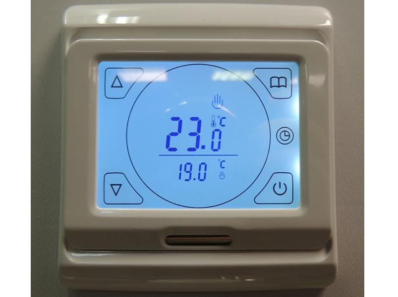 Термостат делает управление теплым полом простым и эффективным