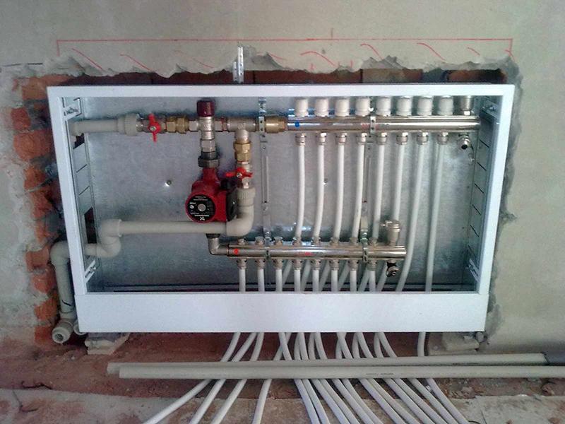 Разводка водяного отопления