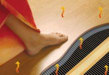 Теплый пол с использованием инфракрасной пленки