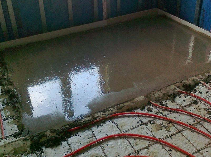 Обустроить водяной пол под стяжку не всегда возможно