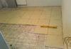 Укладка плитки на фанеру на теплый пол