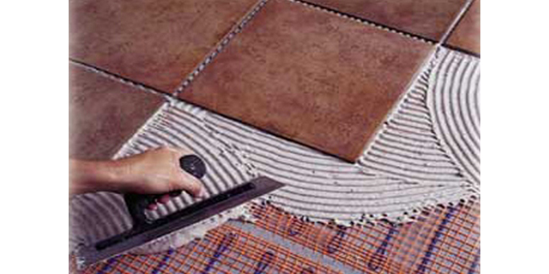 Укладка плитки на систему электрического теплого пола