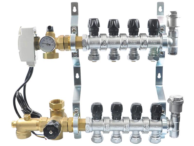 Балансировочная арматура поможет оптимально распределить мощность по контурам различной длины