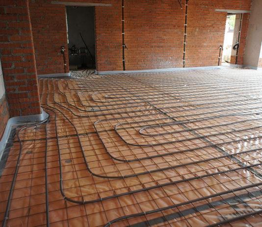 Электрический теплый пол для гаража