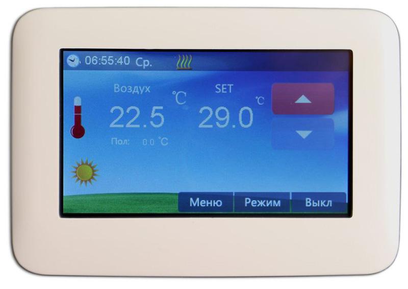 Программируемый термостат поможет экономить до 30% энергии