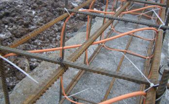 Греющий кабель для бетона