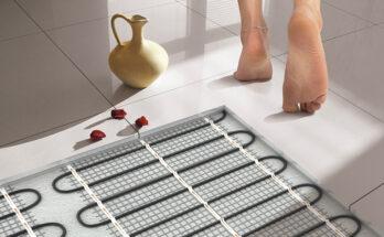 Как сделать стержневой теплый пол под плитку