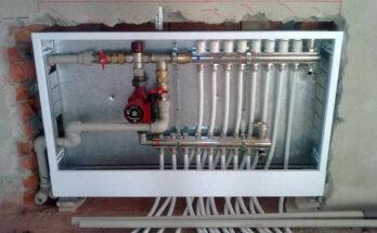 Трубы отопления в полу - технология монтажа