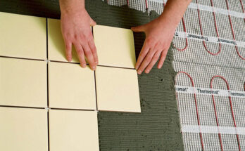 Укладка плитки на теплый пол своими руками